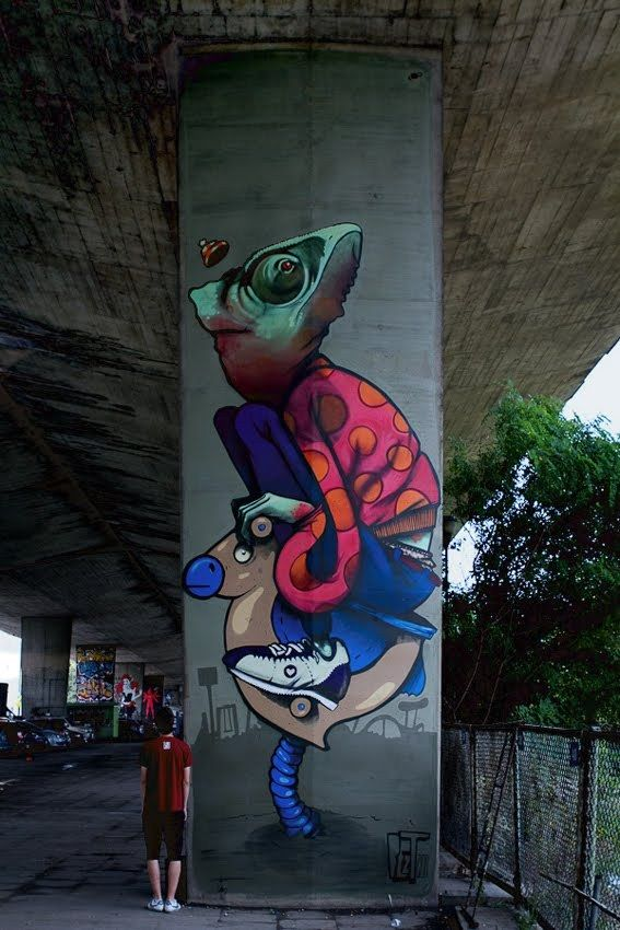 Artwork By Bezt in Warsaw