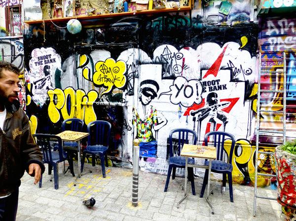 Œuvre Par JP MALOT à Paris