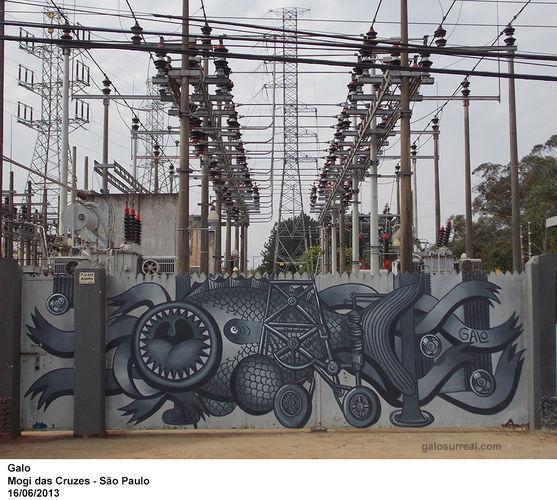 Artwork By Galvani Galo  in Mogi das Cruzes