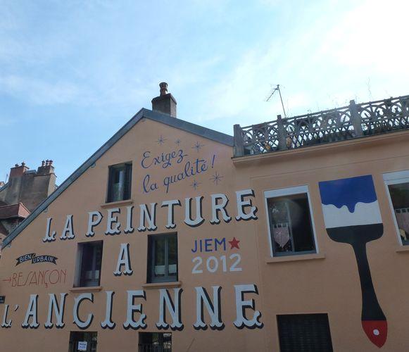 Œuvre Par Jiem à Besançon