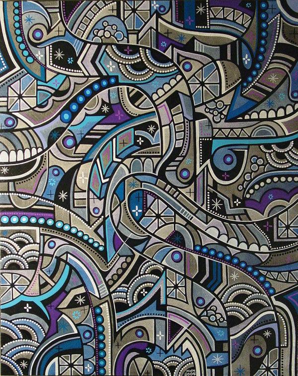 """Œuvre Par Matt W. Moore """"MWM"""" à Portland"""