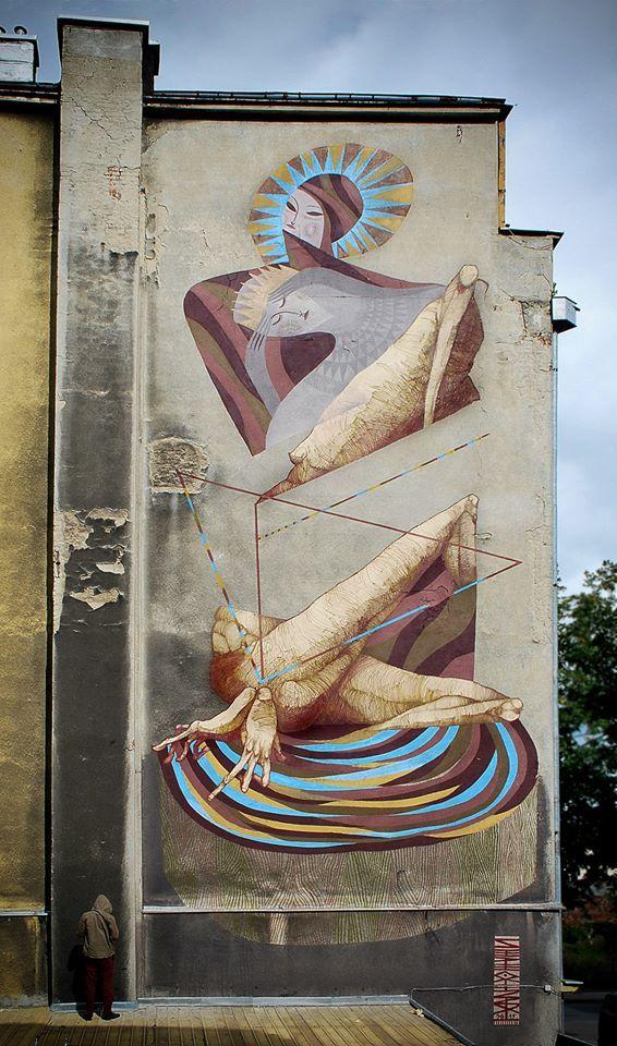Artwork By Wojciech Otecki Kołacz, Sepe in Gdynia (Murals)