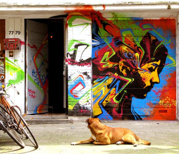 Artwork By stinkfish in Amsterdam