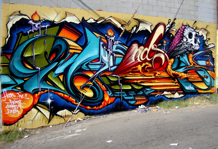 Artwork By Pose in Los Angeles