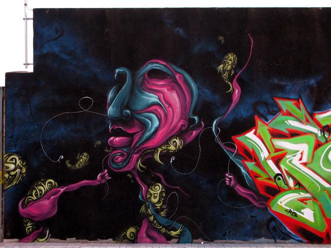 Artwork By KRASER in Murcia, Murcia