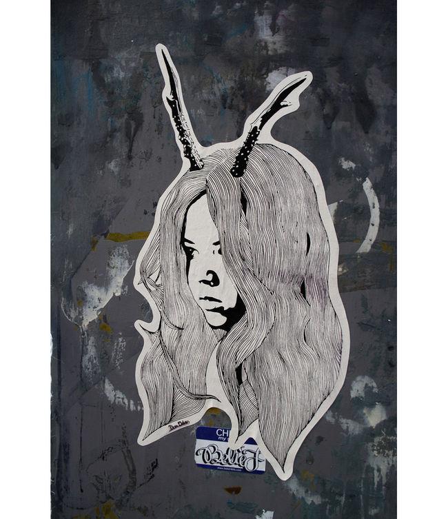 Œuvre Par Don John à Tokyo (Collage, Street Art)