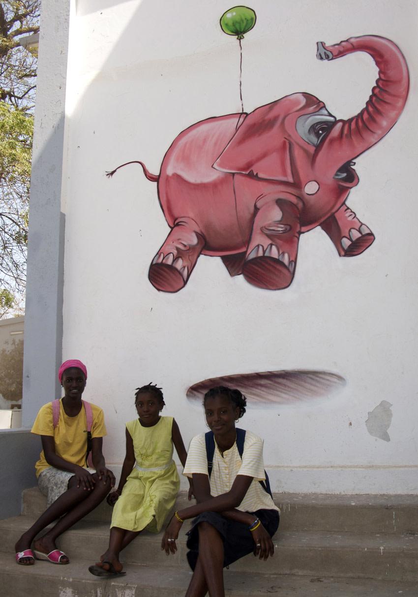Artwork By Muro in Dakar
