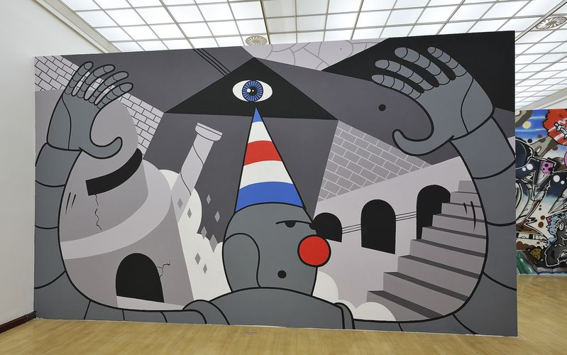Artwork By honet in Prague