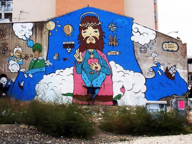Œuvre Par Tvboy à Burgos
