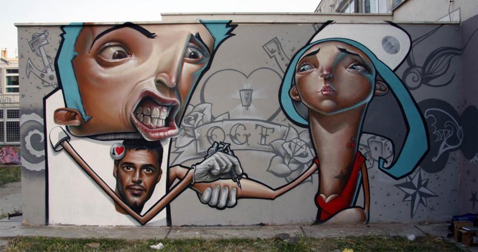 Œuvre Par Rabodiga, Belin à Split