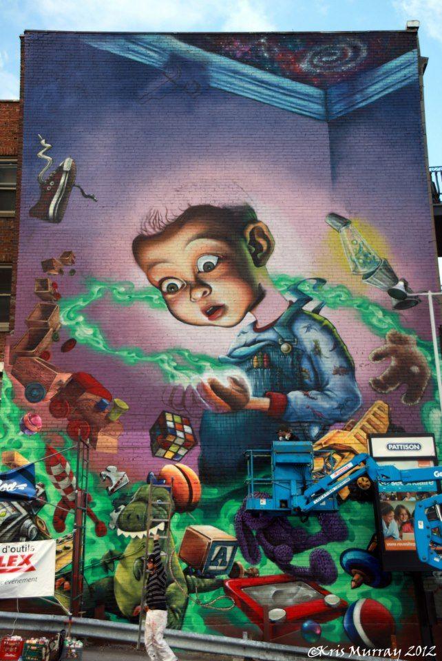 Œuvre Par Fluke à Montréal