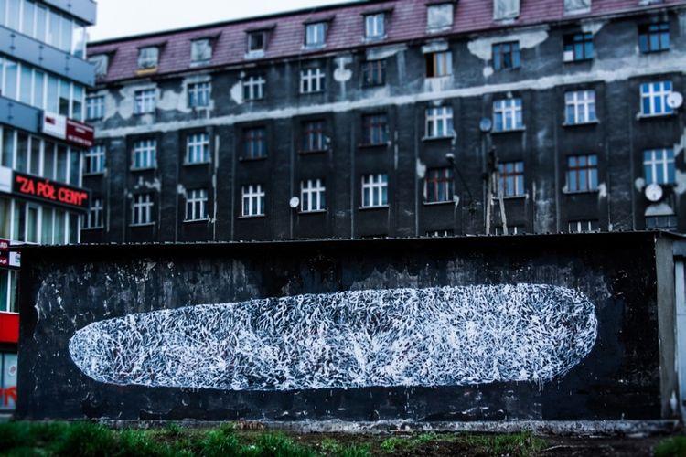 Œuvre Par Tellas à Katowice