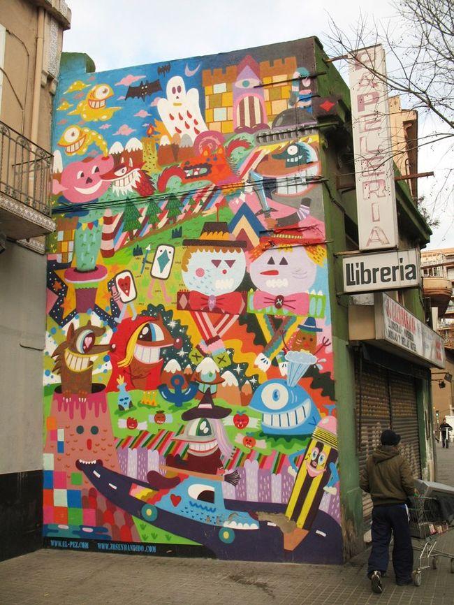 Œuvre Par zosen, Pez à San Adrián