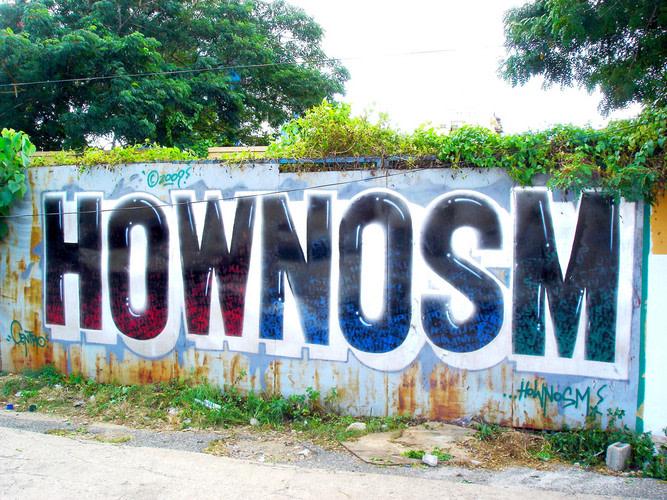 Œuvre Par Nosm, How à Saint-Domingue