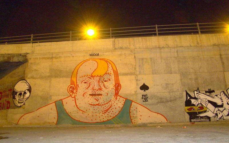 Œuvre Par Dimitri Taxis à Athènes