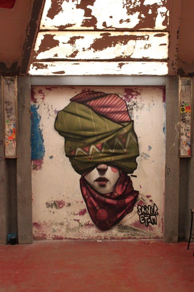 Artwork By Sainer in Genoa