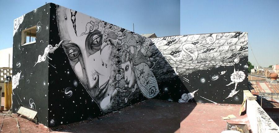Œuvre Par Liqen à Guadalajara