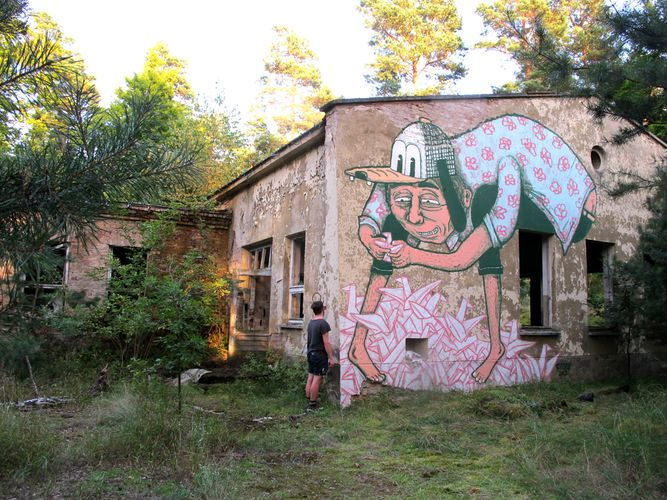 Œuvre Par RYLSEE à Berlin