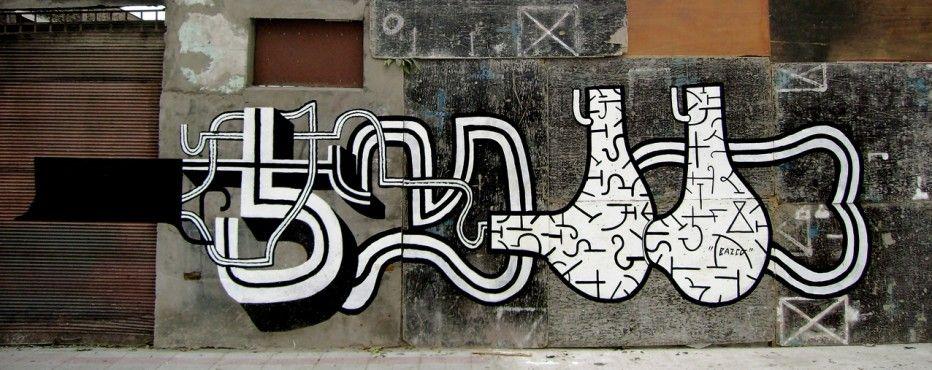 Œuvre Par Basco Vazko à Santiago