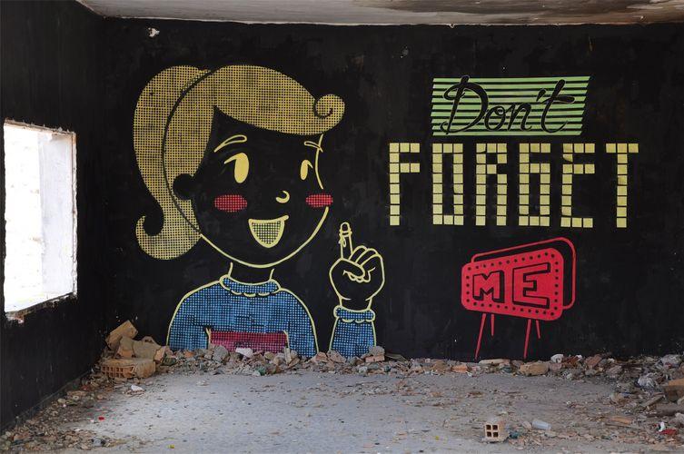 Artwork By Eme in Murcia, Murcia (Irony)