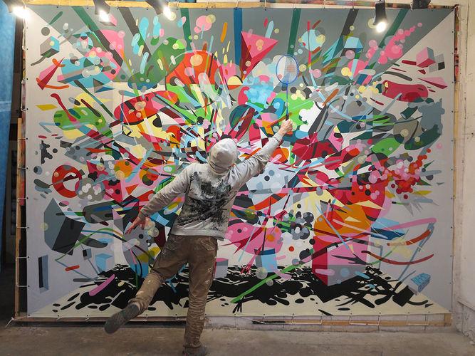 Artwork By Nikodem in Grenoble