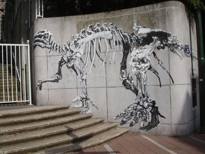 Œuvre Par bonom à Bruxelles (Nature, Street Art)