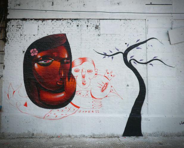 Œuvre Par Jade Uno à Buenos Aires District