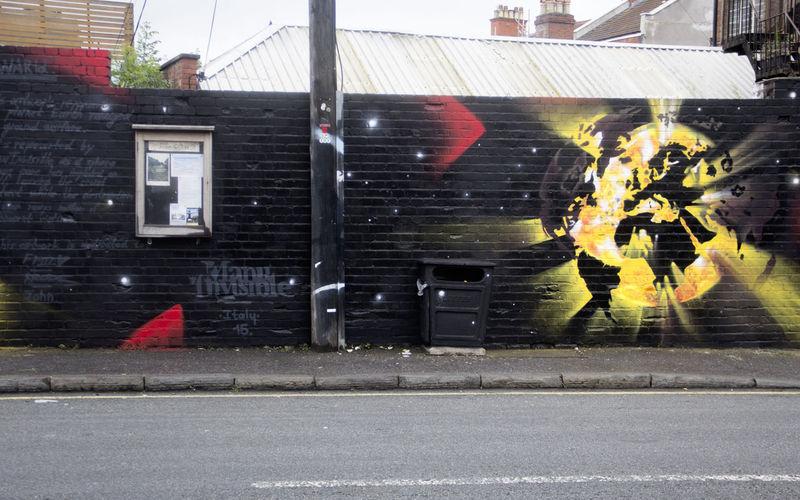 Œuvre Par Manu   Invisible à Londres
