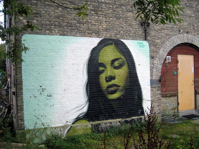 Artwork By El Mac in Copenhagen