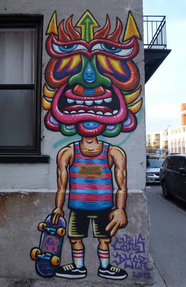 Artwork By Chris Dyer in Montreal