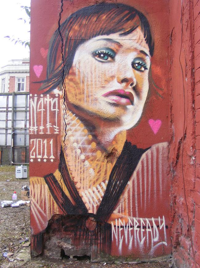 Œuvre Par N4T4 à Manchester (Portrait)
