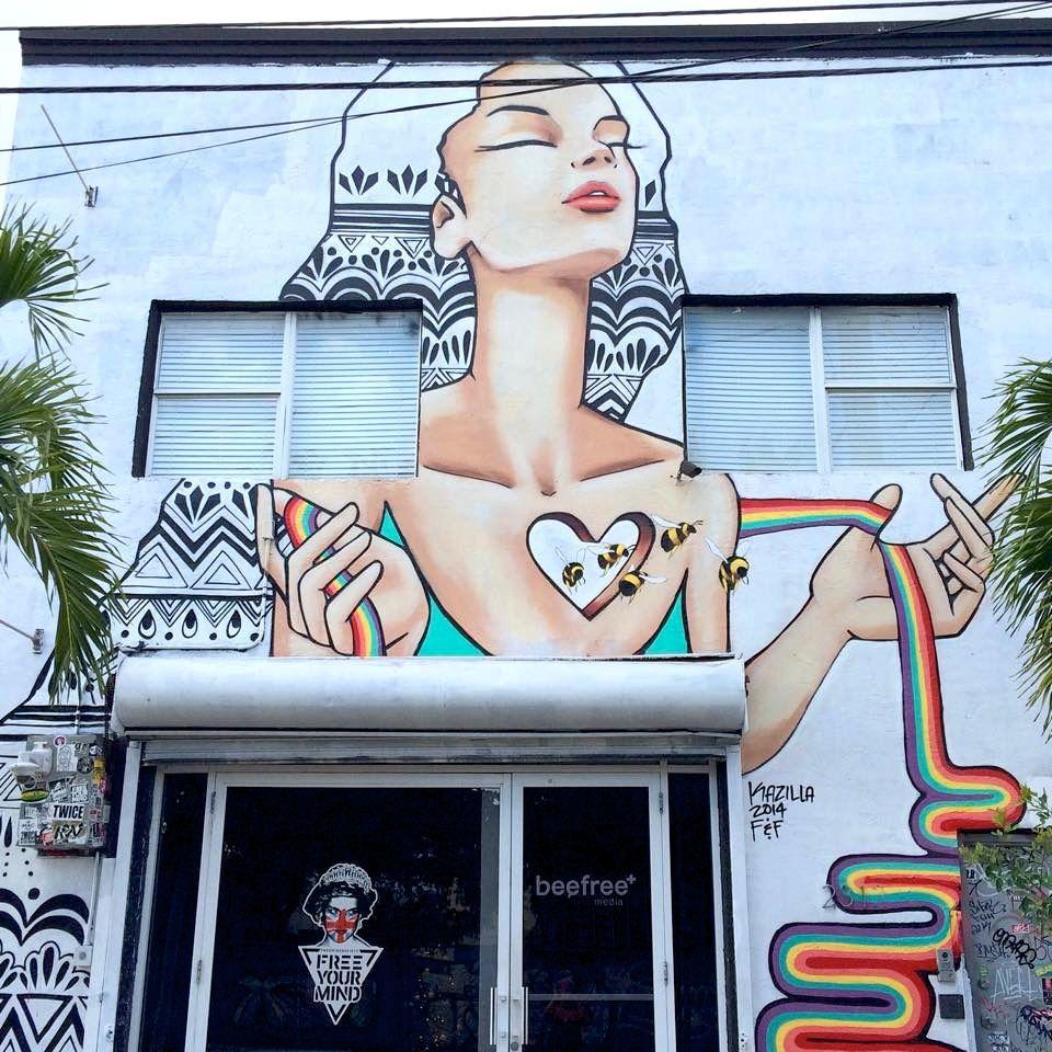Œuvre Par Kazilla à Miami