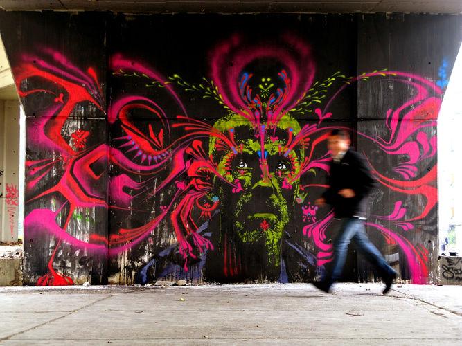 Œuvre Par stinkfish à Bogota