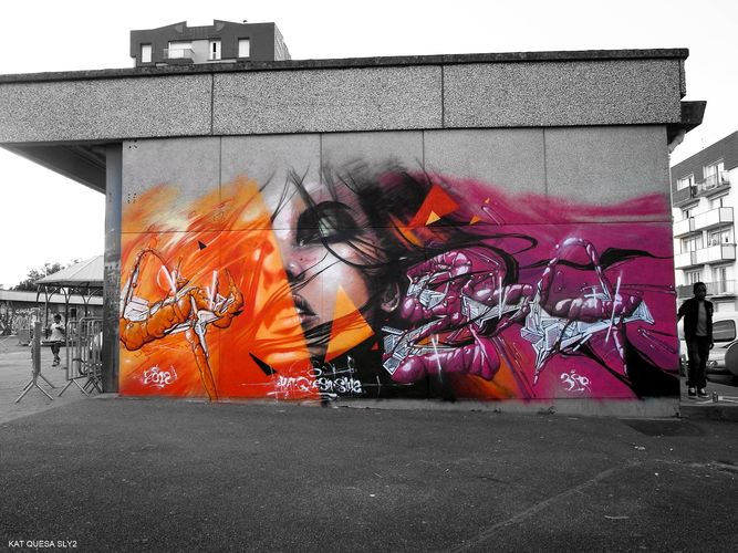 Œuvre Par sly2 à Paris