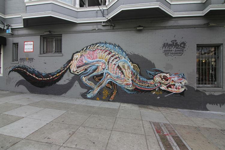 Œuvre Par Nychos à San Francisco