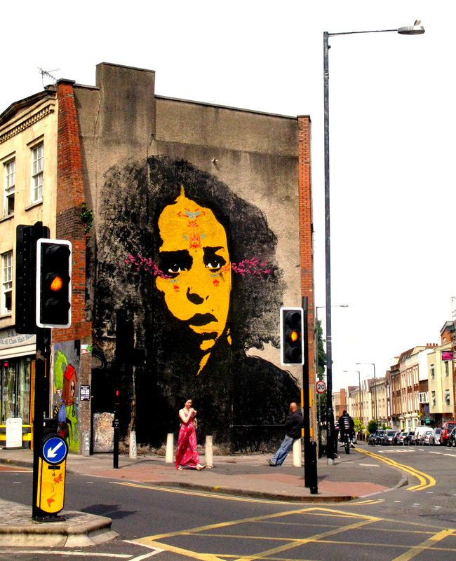 Artwork By stinkfish in Bristol