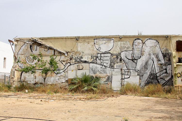 Œuvre Par Dede à Tel Aviv-Jaffa (Personnages, Figuratif)