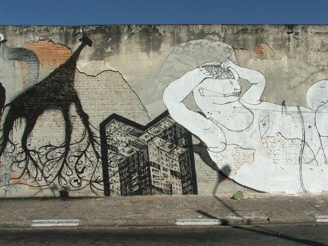 Œuvre Par M-City, Sam3, Blu à São Paulo