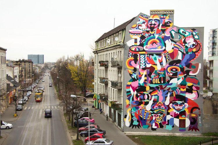 Œuvre Par 3ttman à Łódź