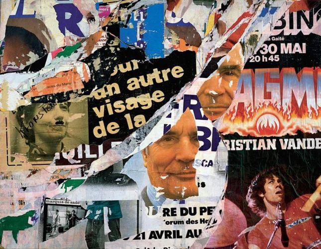 Artwork By Jacques Villeglé in Vannes