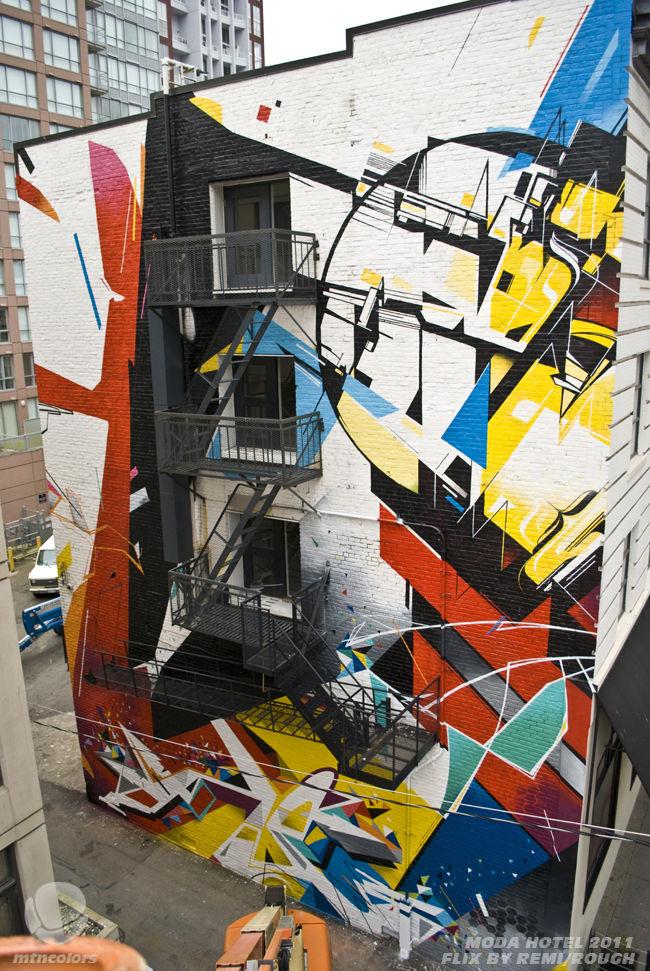 Œuvre Par Kofie, Remi Rough, Sueme, Jerry Inscoe à Vancouver (Abstrait)