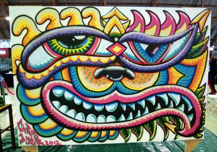 Œuvre Par Chris Dyer à Los Angeles
