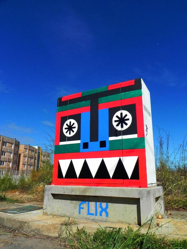 "Artwork By Rafael ""Flix"" Fernandez in Caroní Municipality"