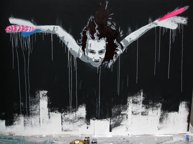 Œuvre Par Vexta à Paris