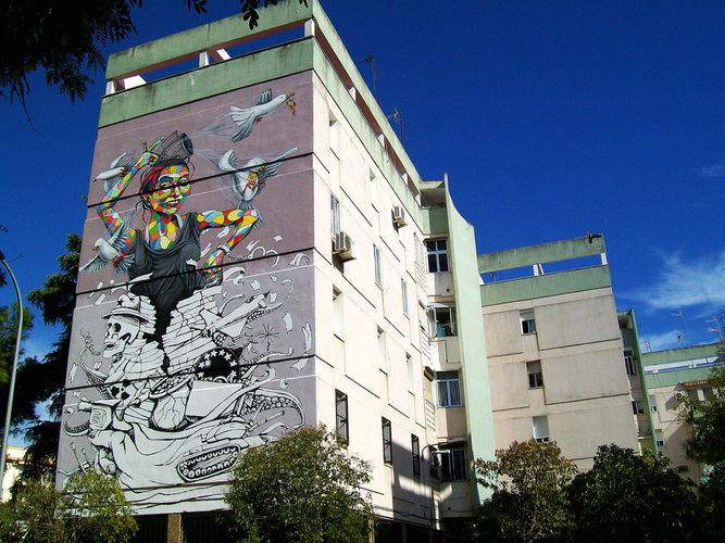 Œuvre Par Lake à Séville