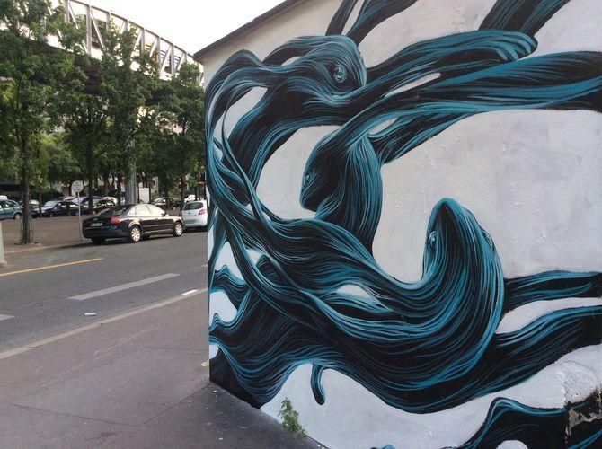 Œuvre Par Pantonio à Paris