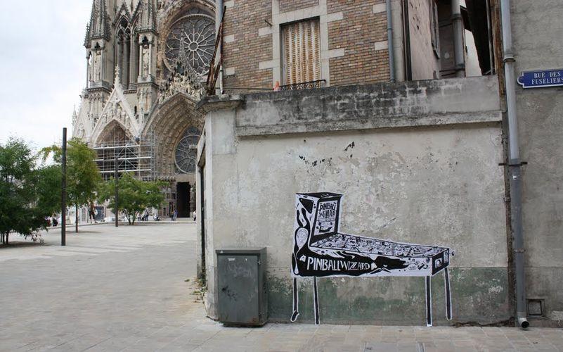 Artwork By Nicolas Saloquin in Reims