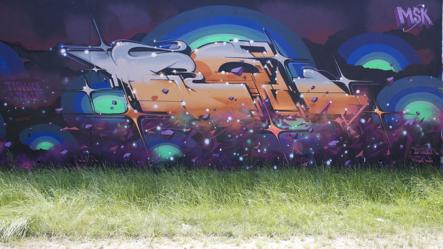 Artwork By Roid in London (Futuristic)