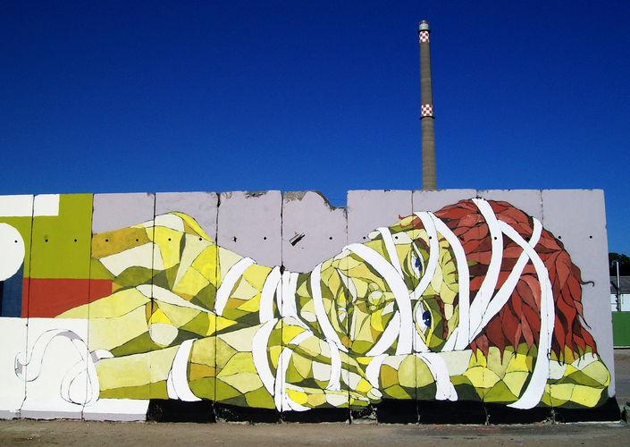 Œuvre Par Lake à Berlin (Façades)