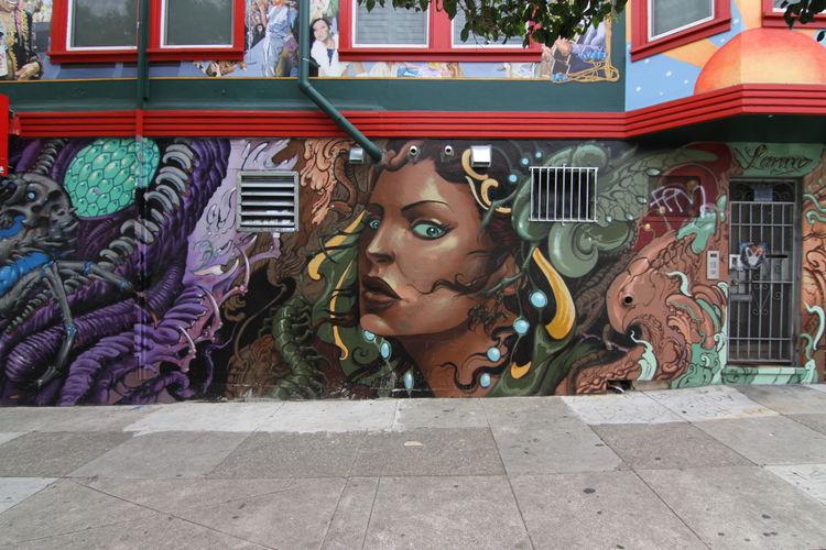 Œuvre Par Lango à San Francisco (Portrait)